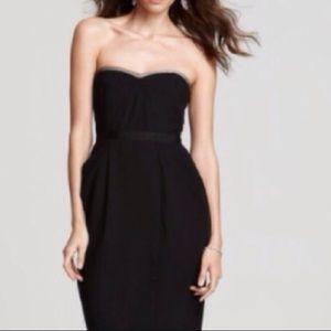 BCBGMaxAzria Black Daphine Dress